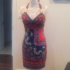 Cache multi color dress